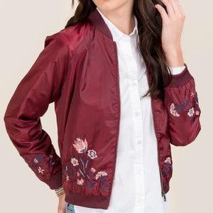 Azelea Bomber Jacket | Francesca's